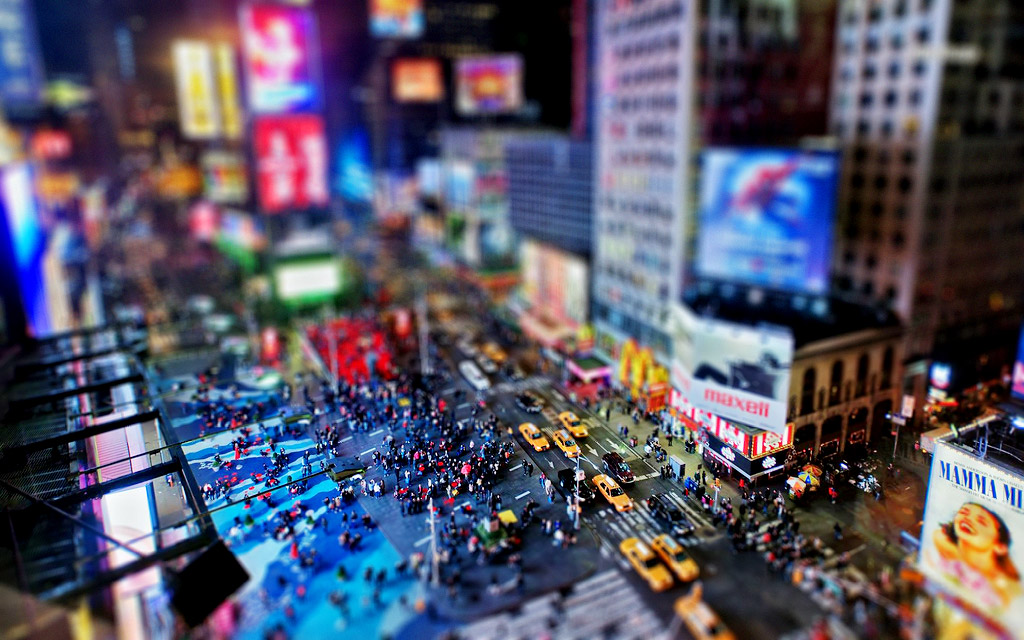 Create a miniature tilt-shift effect in photoshop phlearn.
