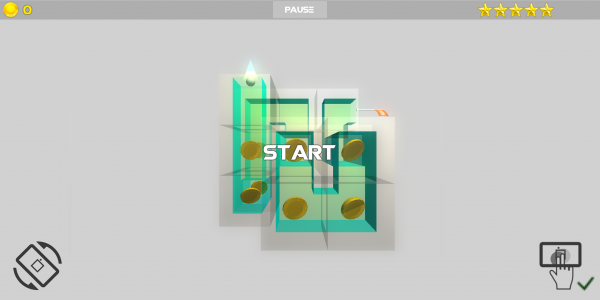 1phone 600x300 Introducing Cube Labyrinth 3D   great free mobile game by Photoshop tutorials