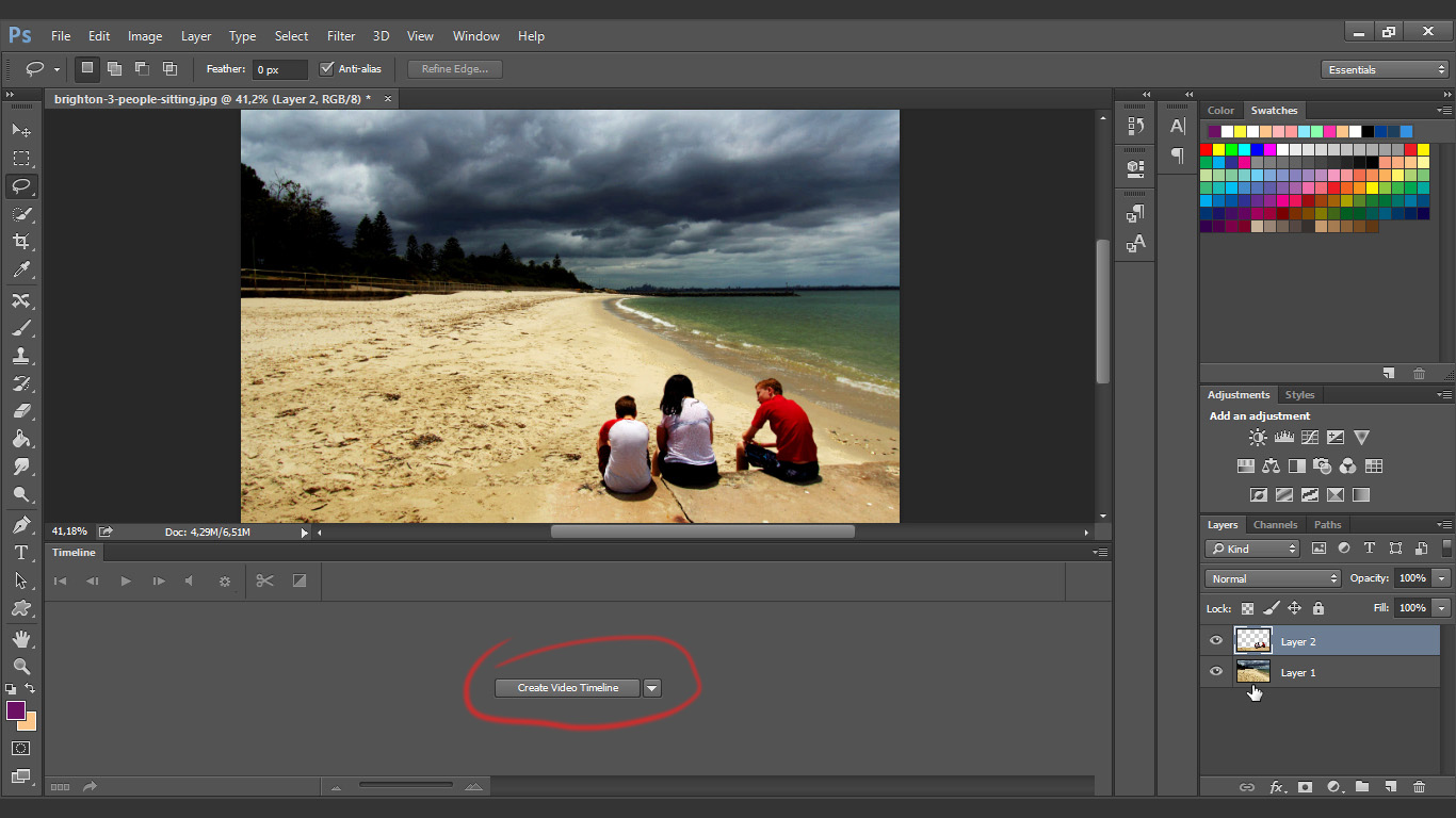 how to bring back something you erased in photoshop