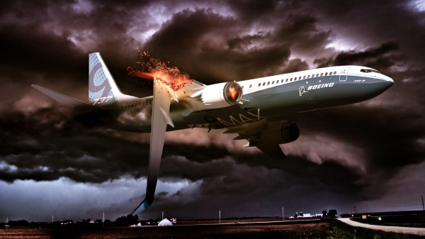 airplane crashed 600x337 Airplane Crash | Photoshop Speed Art