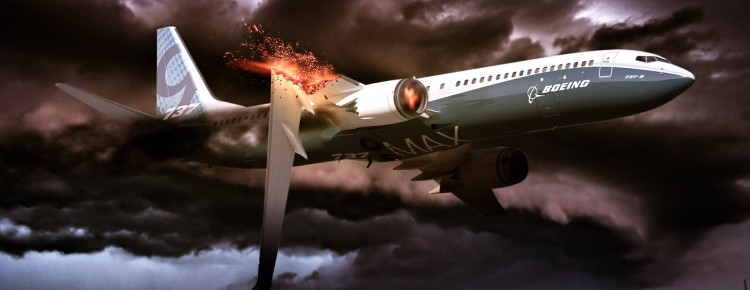 airplane crashed photoshop speed art