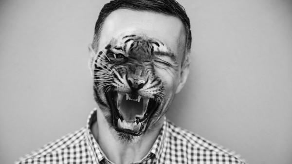 animal face tutorial intro 600x337 Half man / Half animal face| Photoshop tutorial