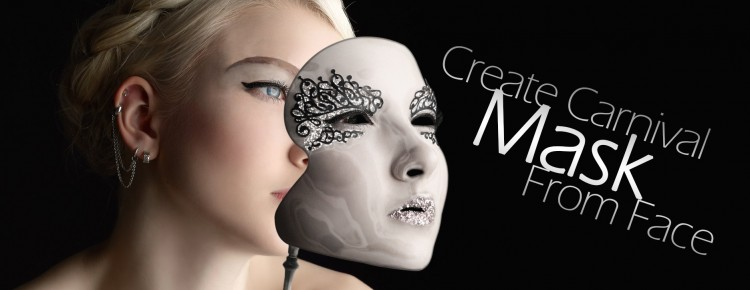 create carnival mask from face_web