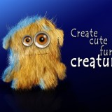 How to create cute furry creature in Photoshop