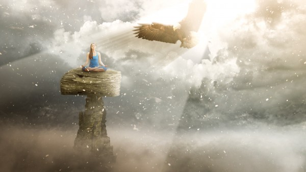 eagleee2 600x337 Photo Manipulation Photoshop Tutorial: Clear your Mind