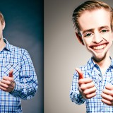 How to transform any person to Caricature using Photoshop