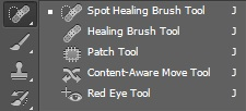 retouching 1 Retouching tools