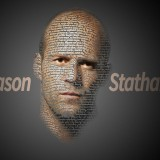 Easy text face photo manipulation effect